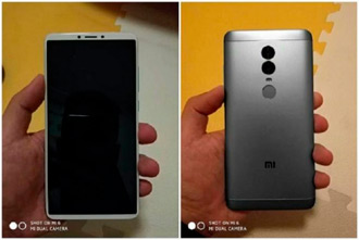 Xiaomi Redmi Note 5 Plus с двойной задней камерой, очередная утечка перед презентацией